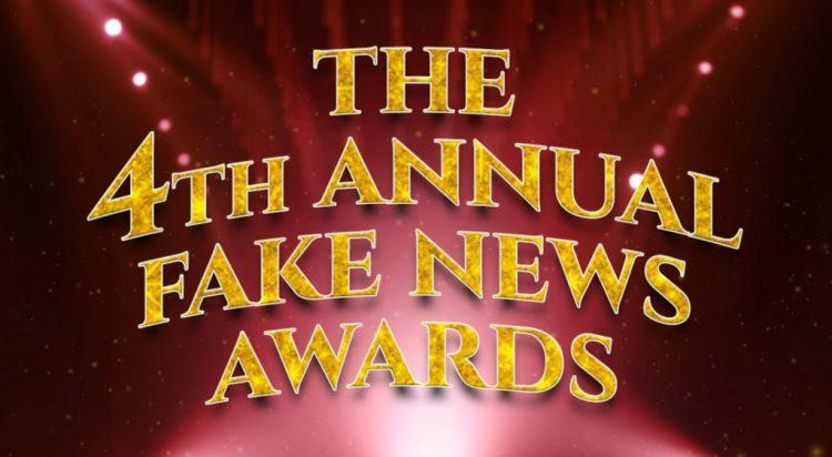 Dishonoring The CIA-Controlled Media: The Fake News Awards (Video)