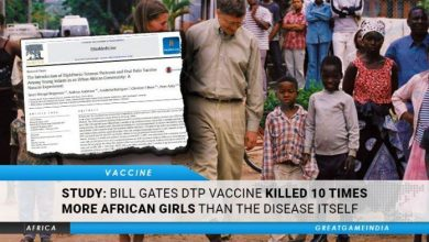 Photo of STUDY: Bill Gates DTP Vaccine Killed 10 Times More African Girls Than The Disease Itself