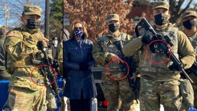 Photo of Security Theater? National Guard 'Protecting' U.S. Capitol Pictured Without Magazines In Their Rifles