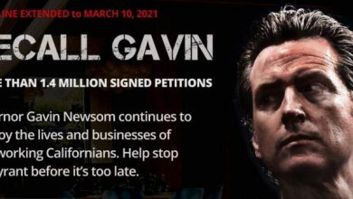 Photo of The People Of California Are Standing Up & Gavin Newsom Is About To Be Shown The Door!