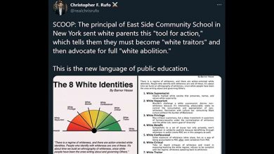 Photo of New York School Principal Tells White Parents to Become 'White Traitors'