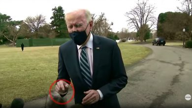 """Photo of Absolute proof the Biden """"presidency"""" is FAKED… new video shows green screen compositing """"error"""" that exposes the truth"""
