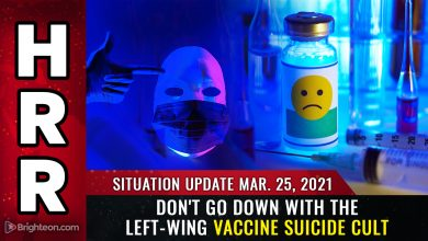 Photo of Situation Update: Don't go down with the left-wing VACCINE SUICIDE CULT