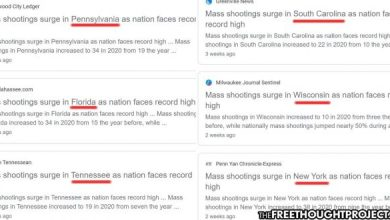 Photo of Mainstream Media Exposed Coordinating Identical Mass Shooting Narratives For Different States