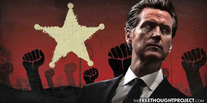 California: Governor Gavin Newsom – No Money For Firefighters, But $28 Mil For Illegal Aliens