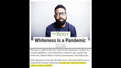 Photo of The Root: 'Whiteness Is A Pandemic' – 'Only Way To Stop It' Is to 'Isolate It' And 'Kill It'