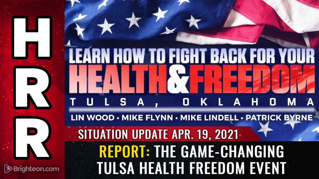 Amazing update from the Health and Freedom event at Tulsa: Videos, updates, interviews and more