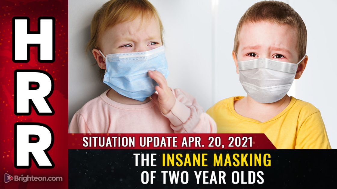 Now they want to mask TWO YEAR OLDS… and in Oregon, they're pushing to make masks PERMANENT