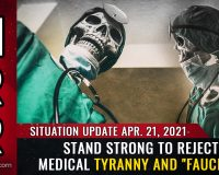 "REJECT medical tyranny and ""Faucism"" or lose your freedom forever (and die as a medical experiment prisoner)"