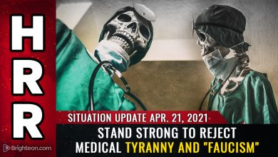 "Photo of REJECT medical tyranny and ""Faucism"" or lose your freedom forever (and die as a medical experiment prisoner)"