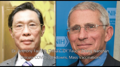 Photo of Faucism: Audio Captures Anthony Fauci & China's Zhong Nanshan Colluding On COVID Lockdowns & Mass Vaccinations (Video)