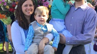 Photo of Their Name Is Adah and Noah Lesslie: Two White Children Among Those Whites Murdered by Black NFL Player