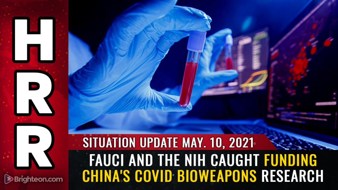 Fauci and the NIH caught funding China's covid bioweapons research
