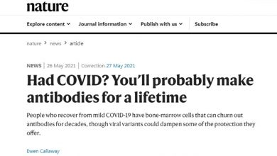 Photo of Media Admits People Who Get COVID Will 'Probably Make Antibodies For A Lifetime'