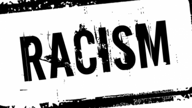 """Photo of Black professor says whites should be blown up and """"gassed"""" in coming race war"""