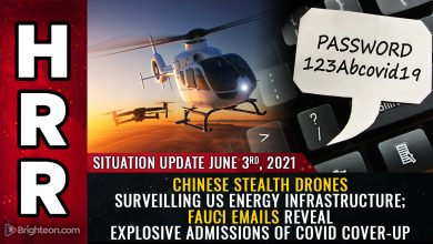 Photo of Chinese STEALTH DRONES surveilling US energy infrastructure; Fauci emails reveal explosive admissions of covid cover-up