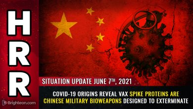 Photo of Covid-19 ORIGINS revealed: Vaccine spike proteins are Chinese military bioweapons designed to kill