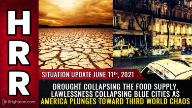 Photo of DROUGHT collapsing the food supply, LAWLESSNESS collapsing blue cities as America plunges toward Third World chaos
