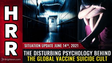 Photo of MASS HYPNOSIS: The disturbing psychology behind the global vaccine SUICIDE CULT