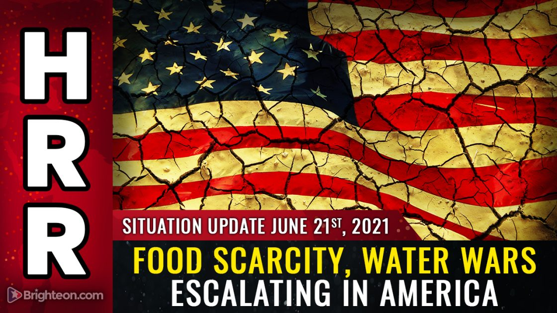 """WATER WARS about to go kinetic in America as farmers targeted by """"terrorist"""" state governments that are deliberately collapsing civilization"""