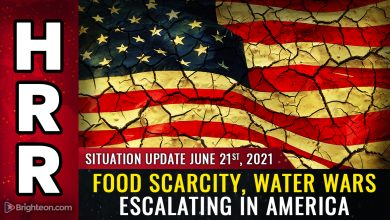 """Photo of WATER WARS about to go kinetic in America as farmers targeted by """"terrorist"""" state governments that are deliberately collapsing civilization"""