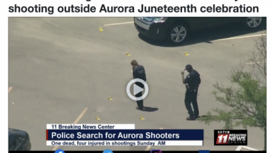 Photo of How Can We Blame This on White People?: 114 Shell Casings Found at Another Black on Black Mass Shooting at Aurora Juneteenth Celebration