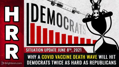 Photo of ANALYSIS: Covid vaccine deaths likely to strike 2 Democrats for every 1 Republican… Dems could lose tens of millions of voters before 2024 elections