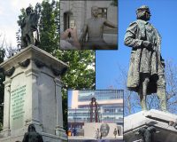 Newark, NJ Takes Down Statue of Christopher Columbus, Erects Statue of George Floyd