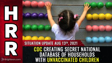 Photo of BREAKING: CDC creating secret national database of households with unvaccinated children… hear the recording… plan to medically KIDNAP all unvaxxed kids?