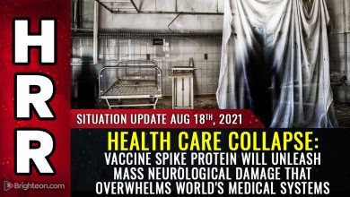Photo of HEALTH CARE COLLAPSE warning: Vaccine spike protein will unleash widespread neurological damage that overwhelms world's medical systems