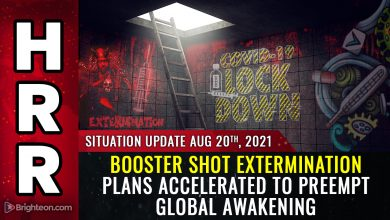 Photo of Health authorities are pushing booster shot extermination plans to hurry and kill the masses before they fully awaken to the covid scam