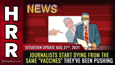 """Photo of Japan discovers """"magnetic"""" substance in Pfizer covid vaccines; journalists start DYING from the vax they pushed"""