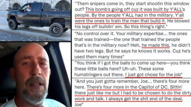 """Photo of """"Patsy"""" Behind Capitol Threat Told Feds His """"Bomb"""" Was """"Built by Y'all's People,"""" """"The People Y'all Had in The Military"""""""