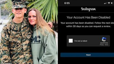 Photo of Instagram Disables Account of Fallen Marine's Mother After She Blamed Biden For Son's Death