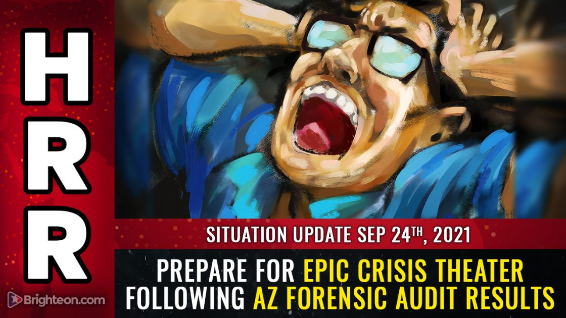 """AZ forensic audit results show SYSTEMIC fraud, faked votes, more than 5X the margin of """"victory"""" from just one county out of the entire state … prepare for CRISIS THEATER distractions"""