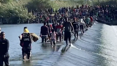 Photo of NEW VIDEO RELEASED: Shock Footage Shows Countless Migrants Wading Across Rio Grande into America