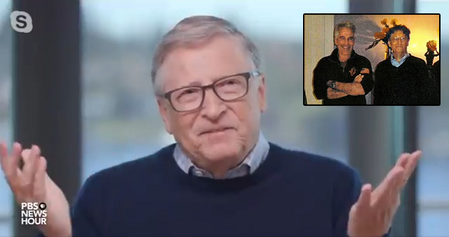 """""""He's Dead"""": Bill Gates Squirms After Being Asked About His Relationship With Jeffrey Epstein"""