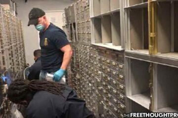 FBI Robs 800 Safety Deposit Boxes, Steal People's Life Savings, Claiming Cash Smelled Like Drugs