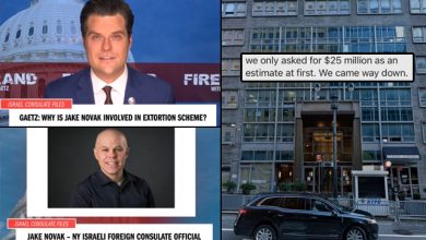 Photo of Rep. Matt Gaetz: Why Is An Israeli Consulate Official Involved In An Effort to Extort My Family Of $25M?