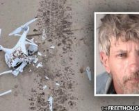Man Facing 30 Years for Shooting Down Police Drone — 'Harassing Him' on His Property