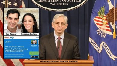 Photo of Report: AG Merrick Garland's Family Is Getting Rich Off Selling Anti-White CRT Material to Public Schools