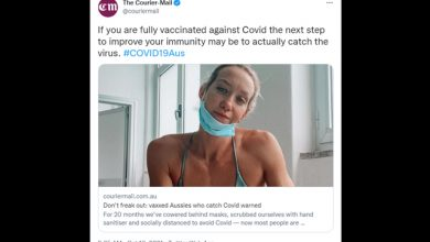 Photo of Goalpost Shift: Media Says Double-Vaxxed Catching Covid Is A Good Thing
