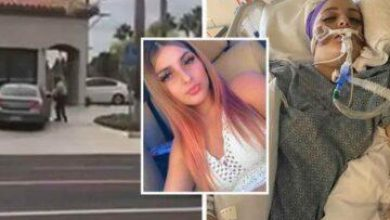 Photo of California: Teen Left Brain-Dead After Cop Shot Her In The Head As She Fled Over A Fight At School (Video)